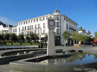 Das Ostseebad Binz (Quelle: Wikipedia, Foto: Aktron)