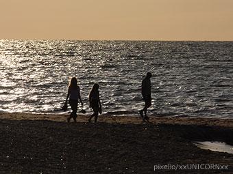 Lange Spaziergänge an der Ostseeküste (Quelle: pixelio, Foto: xxUNICORNxx)